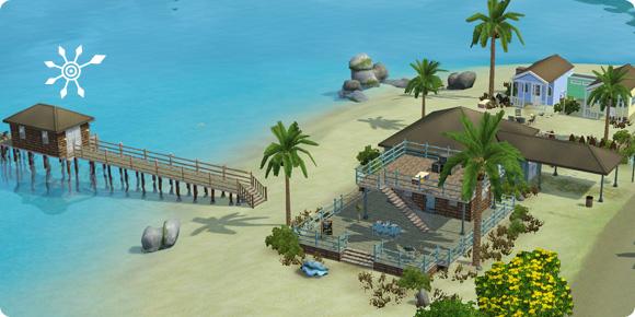 Resort Tropenoase auf Isla Paradiso im Inselparadies