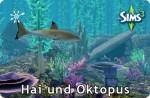 Die Sims 3 Haie und Oktopus in Unterwasserhöhlen