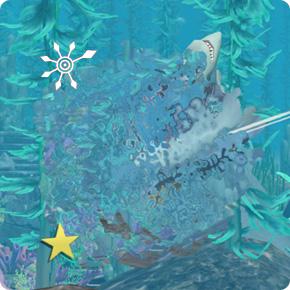 Die Sims 3 Kmapf mit einem Hai