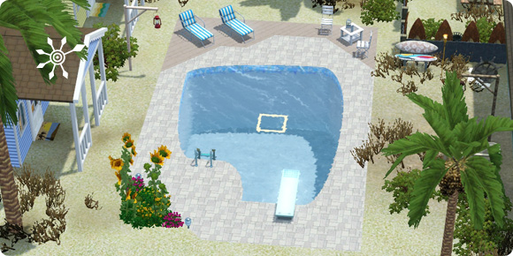 Sims 3 Resorts – Entwurfsvorschau