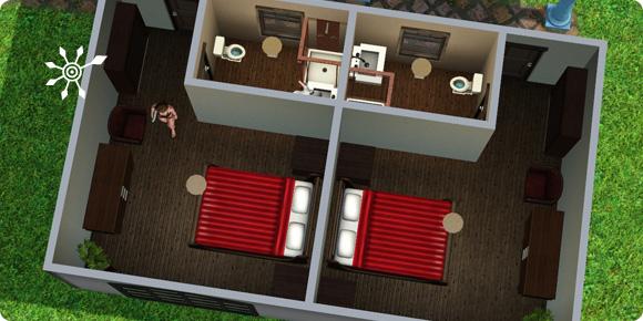 Sims 3 Luxussuite im Resort