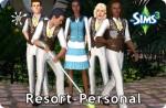 Sims 3 Resort-Personal einstellen und einkleiden