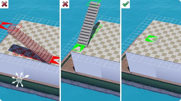 Treppe im Zentrum bauen