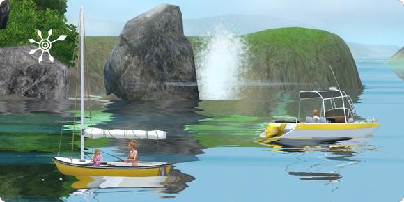Angeln im Segelboot