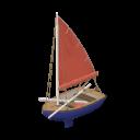 Segelboot von Gemeingut