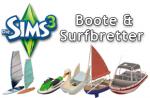 Die Sims 3 3 Boote und Surfbretter