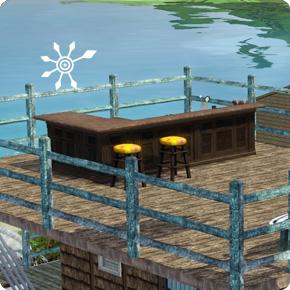 5-Sterne-Resort – Bar
