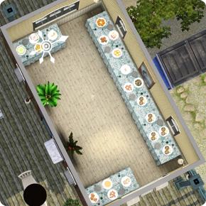 5-Sterne-Resort – Ausbau des Buffets auf 5 Tische