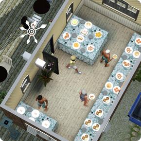 5-Sterne-Resort – Ausbau des Buffets auf 6 Tische