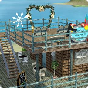 5-Sterne-Resort – Hochzeitsbogen