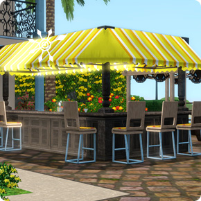 Tutorial: Sims 3 Resort bauen – Attraktion Professionelle Bar