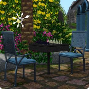 Tutorial: Sims 3 Resort bauen – Attraktion Schachtisch