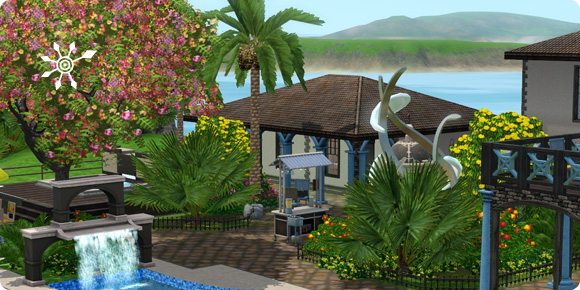 Tutorial: Sims 3 Resort bauen – Bepflanzung