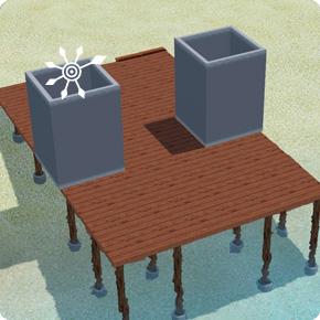 Pflanzkübel errichten – Schritt 1 Wände errichten