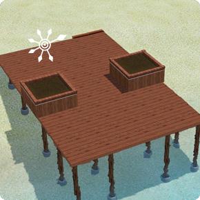 Pflanzkübel errichten – Schritt 2 Wände kürzen und tapezieren