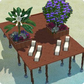 Pflanzkübel errichten – Schritt 3 Bepflanzung