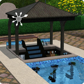 Tutorial: Sims 3 Resort bauen – Pool mit Poolbar
