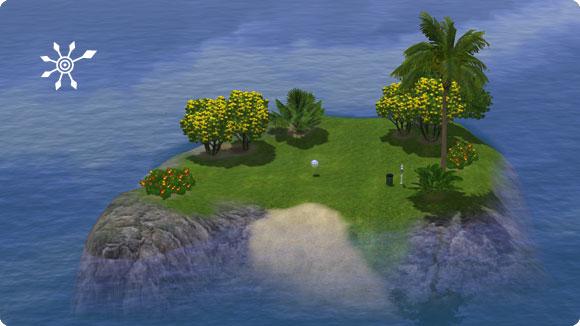 Marker für unentdeckte Inseln platzieren