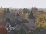 Dächer von Nebelhausen