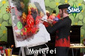 Die Sims 3 Fähigkeit Malerei / Malen