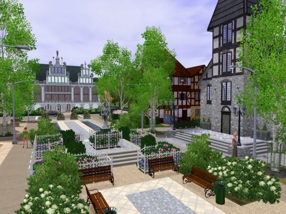 Neustadt an der Sim – Altstadtinsel
