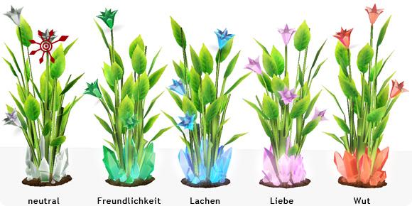 Sims 3 Fähigkeit Botbau – Kristallblumen mit Emotionaler Ladung
