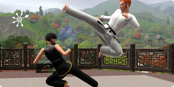 Die Sims 3 Fähigkeit Kampfkunst – Sparring-Tuniere