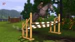Die Sims 3 Hindernis für Springreiten – Triplebarre
