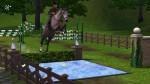 Die Sims 3 Hindernis für Springreiten – Wassergraben