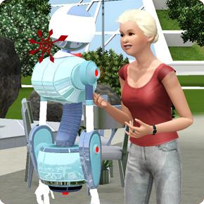 einen ersten Plumbot treffen