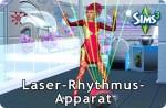 Die Sims 3 Fähigkeit Laser-Rhythmus-Apparat