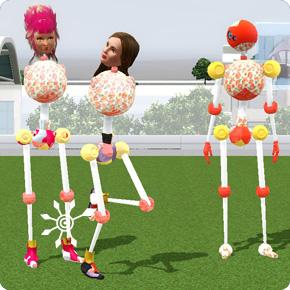 Die Sims 3 Hinterlassene Statue Trendsetting – Plumbot als Inhaber der Hinterlassenen Statue