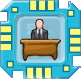 Die Sims 3 Merkmal-Chip für Plumbots: Bürodrohne