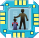 Die Sims 3 Merkmal-Chip für Plumbots: Robo-Kindermädchen