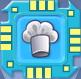 Die Sims 3 Merkmal-Chip für Plumbots: Stahl-Koch