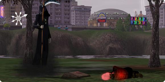 Sims gewollt töten: verdursteter Vampir