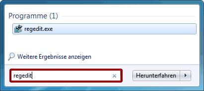 Windows Registry aufrufen – Schritt 2