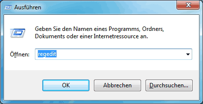 Windows Registry aufrufen – Alternative
