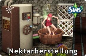 Die Sims 3 Fähigkeit Nektarherstellung