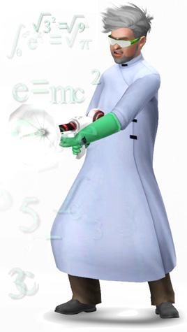 Experimente ausführen in der Karriere Wissenschaft