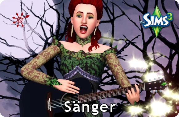 Sims 3 Karriere Sänger