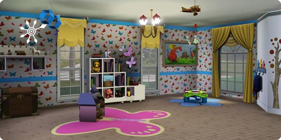 Kinderzimmer für die Tagespflege