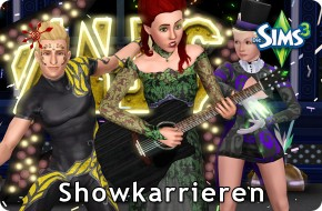 Sims 3 Showkarrieren