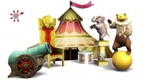 Showbühne: Bühnendekoration Künstliche Einrichtung Set