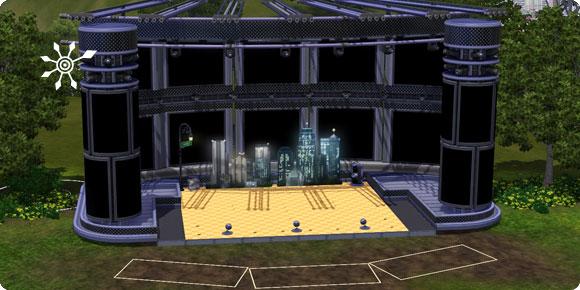 Veranstaltungsort selber bauen