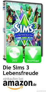 Erweiterung Die Sims 3 Lebensfreude