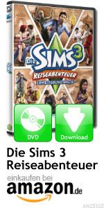 Erweiterung Die Sims 3 Reiseabenteuer