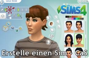 Die Sims 4 Erstelle einen Sim (CaS)