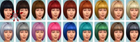 Die Sims 4 Erstelle einen Sim (CaS): Haarfarben