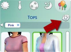 Zufallsgenerator für Outfits in Die Sims 4